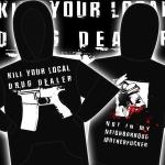 "SD ""Kill your local drug dealer"" hoodie"