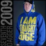 "SD ""I Am Straightedge"" hoodie"